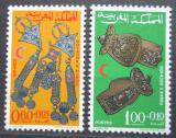 Poštovní známky Maroko 1967 Šperky Mi# 586-87
