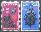 Poštovní známky Maroko 1966 Šperky Mi# 568-69