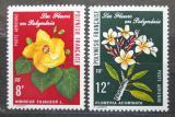 Poštovní známky Francouzská Polynésie 1977 Květiny Mi# 240-41