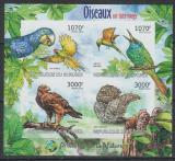 Poštovní známky Burundi 2012 Ptáci neperf. Mi# 2575-78 B
