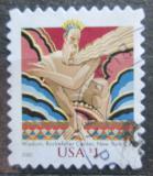 Poštovní známka USA 2003 Socha u Rockefellerova centra Mi# 3731 I