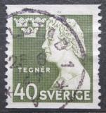 Poštovní známka Švédsko 1946 Esaias Tegnér, básník Mi# 324 A