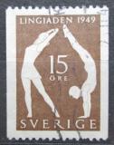 Poštovní známka Švédsko 1949 Sportovní festival Lingiade Mi# 350 C