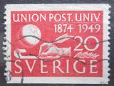 Poštovní známka Švédsko 1949 UPU, 75. výročí Mi# 352 A