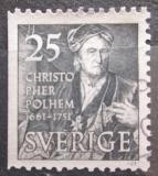 Poštovní známka Švédsko 1951 Christopher Polhem Mi# 363 Dl
