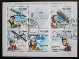 Poštovní známky Svatý Tomáš 2009 Charles Lindbergh, letadla Mi# 4271-75 Kat 11€