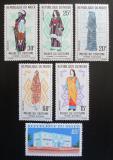 Poštovní známky Niger 1963 Muzeum lidových krojů Mi# 46-51