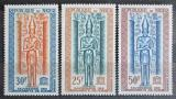 Poštovní známky Niger 1964 Ochrana Núbie Mi# 67-69 Kat 5.50€
