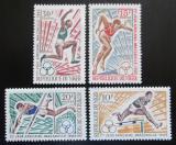 Poštovní známky Niger 1965 Africké sportovní hry Mi# 104-07