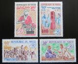Poštovní známky Niger 1965 Občanská osvěta Mi# 109-12