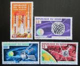 Poštovní známky Niger 1966 Francouzské satelity Mi# 124-27