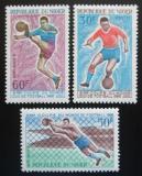 Poštovní známky Niger 1966 MS ve fotbale Mi# 128-30