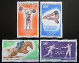 Poštovní známky Niger 1968 LOH Mexiko Mi# 189-92 Kat 7.50€