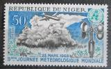 Poštovní známka Niger 1969 Světový den meteorologie Mi# 211