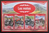 Poštovní známky Guinea 2017 Motocykly Mi# 12486-89 Kat 20€