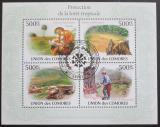 Poštovní známky Komory 2009 Ochrana tropů Mi# 2732-35 Kat 9€