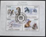 Poštovní známky Komory 2009 Fauna Antarktidy Mi# 2712-15 Kat 9€