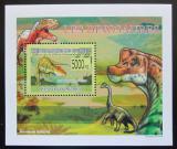 Poštovní známka Guinea 2009 Dinosauři DELUXE Mi# 6391 Block