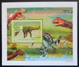 Poštovní známka Guinea 2009 Dinosauři DELUXE Mi# 6394 Block