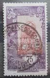 Poštovní známka Francouzské Somálsko 1925 Somálská dívka Mi# 110