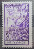 Poštovní známka Francouzské Somálsko 1937 Světová výstava v Paříži Mi# 142
