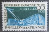 Poštovní známka Francie 1958 Výstava Brusel Mi# 1192