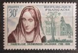 Poštovní známka Francie 1959 Marceline Desbordes-Valmore, básnířka Mi# 1258