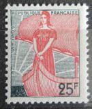 Poštovní známka Francie 1959 Marianne v lodi Mi# 1259