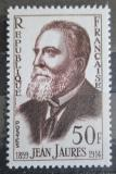 Poštovní známka Francie 1959 Jean Jaures Mi# 1261