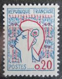 Poštovní známka Francie 1961 Marianne Mi# 1335