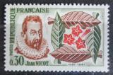 Poštovní známka Francie 1961 Jean Nicot, spisovatel Mi# 1340