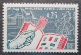 Poštovní známka Francie 1963 Výstava Philatec Mi# 1456