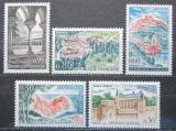 Poštovní známky Francie 1963 Turistické zajímavosti Mi# 1444-48