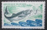 Poštovní známka Francie 1972 Losos Mi# 1794
