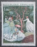 Poštovní známka Francie 1972 Umění, Claude Monet Mi# 1798