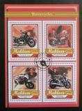 Poštovní známky Maledivy 2017 Motocykly Mi# 6828-31 Kat 10€