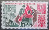 Poštovní známka Francie 1973 Polští uprchlíci Mi# 1820
