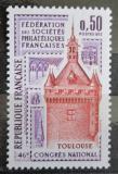Poštovní známka Francie 1973 Filatelistický kongres v Toulouse Mi# 1840