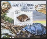 Poštovní známka Burundi 2011 Želvy DELUXE Mi# 2093 Block