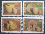 Poštovní známky Transkei, JAR 1989 Proutěné výrobky Mi# 234-37