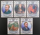 Poštovní známky Burundi 2013 Umění, Vincent van Gogh Mi# 3083-87 Kat 10€
