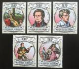 Poštovní známky Burundi 2013 Franz Schubert Mi# 3023-27 Kat 9.90€