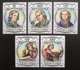 Poštovní známky Burundi 2013 Robert Schumann Mi# 2993-97 Kat 8.90€