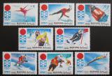 Poštovní známky Manáma 1971 ZOH Sapporo Mi# 562-69