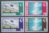 Poštovní známky Tristan da Cunha 1968 Spojení se Svatou Helenou Mi# 120-23