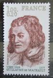 Poštovní známka Francie 1977 Guillaume de Machault, básník a skladatel Mi# 2053