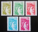 Poštovní známky Francie 1978 Sabinka Mi# 2104-08