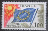 Poštovní známka Francie 1976 Vydání pro Radu Evropy Mi# 19