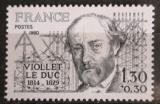 Poštovní známka Francie 1980 Eugene Viollet-le-Duc, architekt Mi# 2195