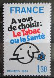 Poštovní známka Francie 1980 Kampaň proti kouření Mi# 2200